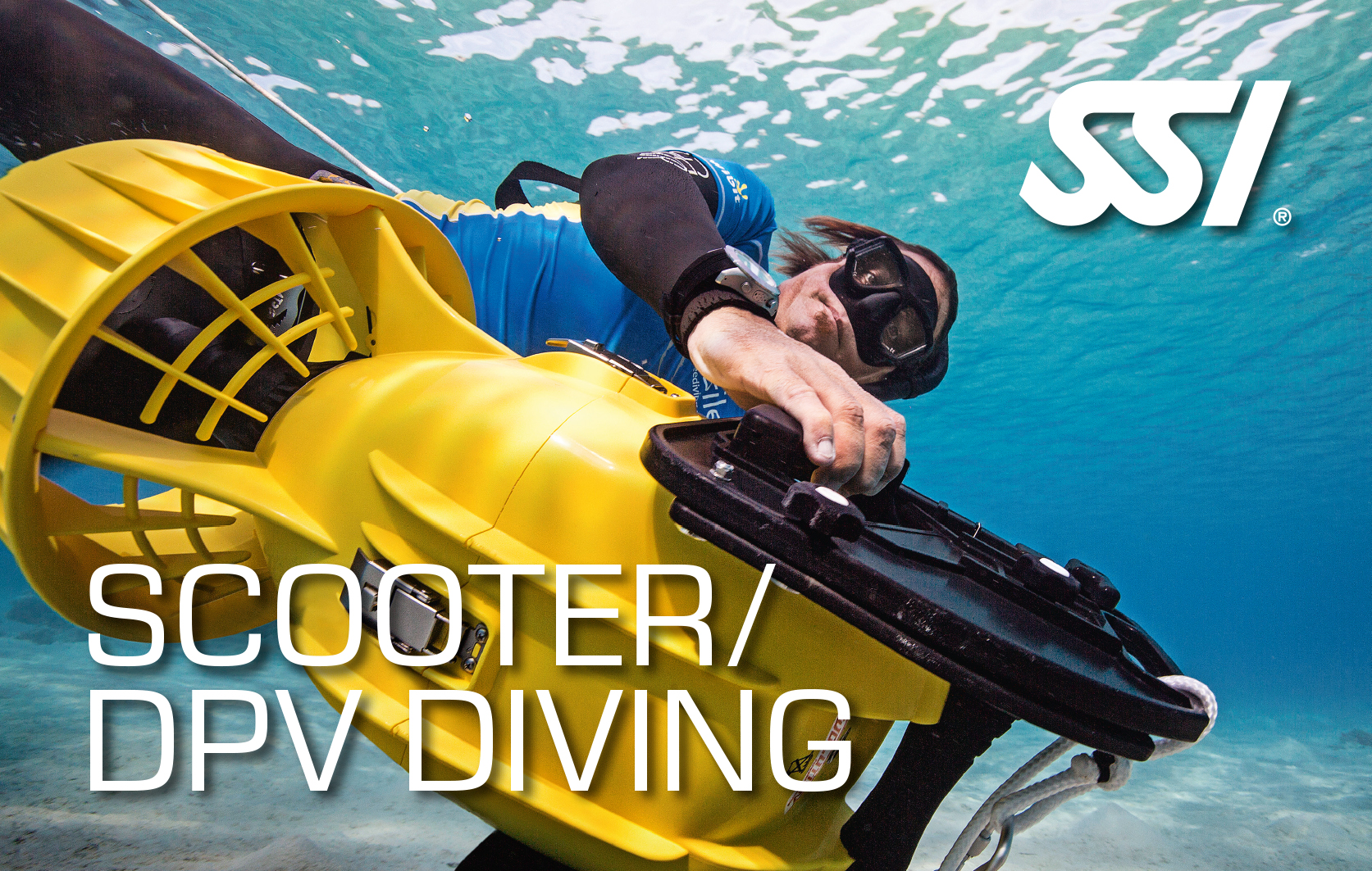 Scooter dpv diving